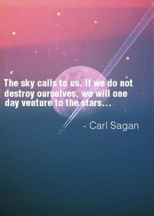 Carl sagan quotes on sky stars