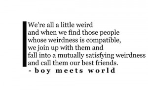 boy meets world is love