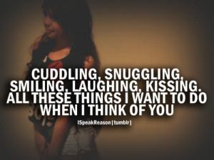 Cuddling Quotes Tumblr