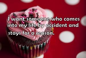cupcake, life, love, quotes, reason