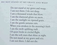 read this at my great grandfathers funeral 4 years ago. I miss him ...