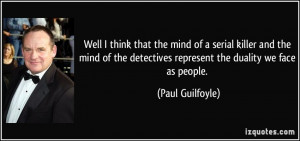 Quotes About the Mind of a Serial Killer