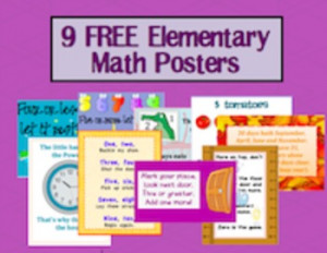 Elementary Math Posters