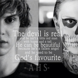 Angel And Devil Love Quotes Devil was once an angel!