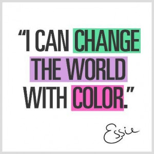 Nail polish lovers quote by Essie