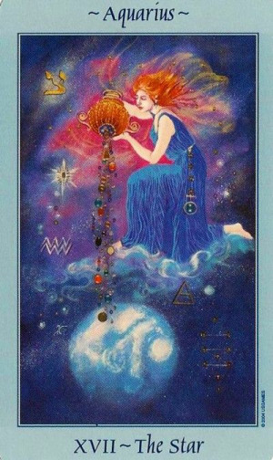 Celestial Tarot / The Star | 17-th arcana | the Star card is about ...