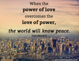 Quotes About Peace Peace quote - view larger