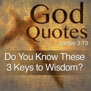 if you are wise and understand god s ways prove it by living an ...