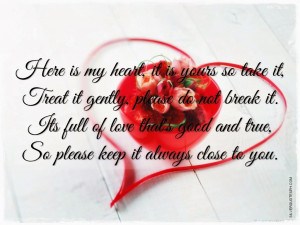 My Heart Is Yours Quotes