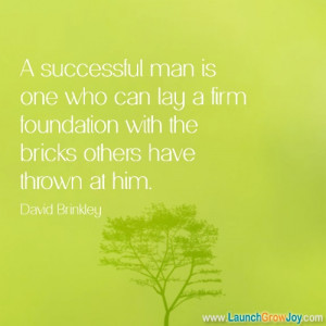 Great quote from David Brinkley