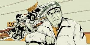 Soichiro Honda; original artwork by Joe Wilson commissioned for Influx ...