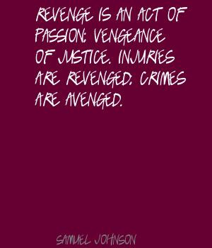 Vengeance quote #2