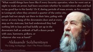 Alexander Solzhenitsyn Gulag Archipelago