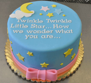 Here is another list of the popular baby shower cake sayings for you :