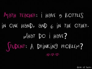Math Teacher I Have