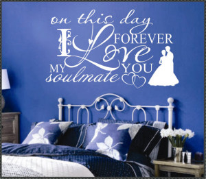 Vinyl Wall Lettering Words Quotes Decals Art Collage Wedding