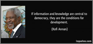 More Kofi Annan Quotes