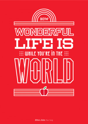 Music Philosophy: 10 Awesome Song Quotes Made Into Posters