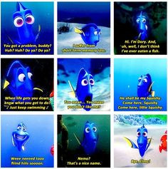 nemo dori quotes | Dory Finding Nemo Quotes Squishy Dory quotes. More