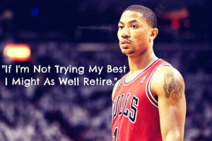 Well, in basketball you need to do your best in every game that you ...