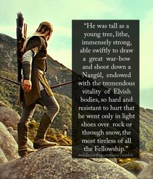 About Legolas, The Book of Lost Tales, Part II ('Legolas ...