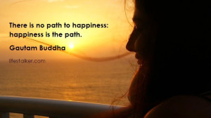 Happiness Quote Buddha Buddha quotes on happiness