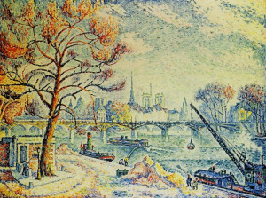 paul signac paris le pont des arts description paul signac