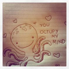 ... Drawings For Your Boyfriend Tumblr #cute #love #cheesy #octupy More