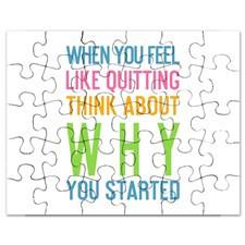 Inspirational Quotes Puzzle Pieces