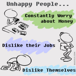 Unhappy People Traits of unhappy people