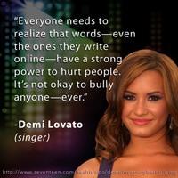 Demi Lovato Quotes About Bullying Demi lovato qu