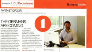 ... and features some quotes from our managing director, Daniel Campion