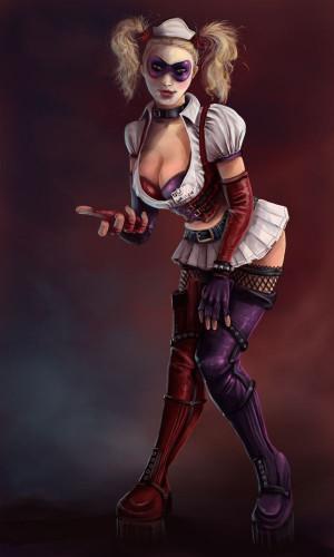 Harley Quinn: Arkham AsylumEn Deviantart, Harley Quinn Arkham Asylum ...
