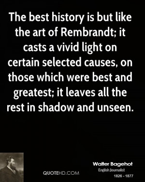 The Best History But Like Art Rembrandt Casts Vivid