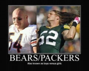 Bears vs. Packers...