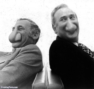 Mel Brooks and Carl Reiner pictures