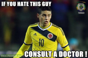 James Rodriguez is the name ...