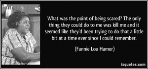More Fannie Lou Hamer Quotes
