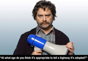 Funny Zach Galifianakis quotes5 Funny Zach Galifianakis quotes