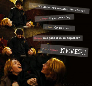 Harry Potter Fred and George ♥