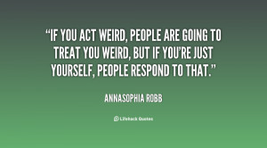 Weird People Quotes Preview quote