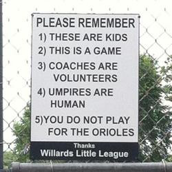 ... That Perfectly Captures the Loutish Behavior of Little League Parents