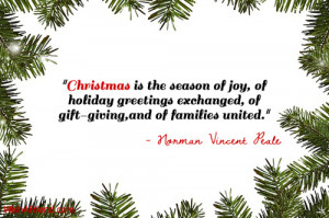 Christmas Quotes About Giving Back ~ Christmas Quotes For Family
