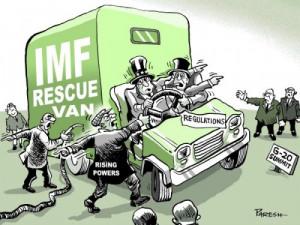 IMF by Paresh Nath, The Khaleej Times, UAE