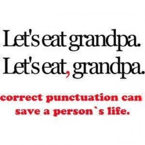 Punctuation lol
