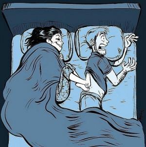 bed, boy, boyfriend, funny, girl, girlfriend, love, night, pretty