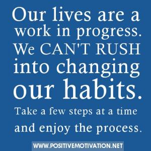 breaking old habits quotes quotesgram