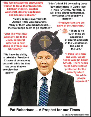 Pat Robertson Strokes His Publicity Shtick With Haiti Remarks
