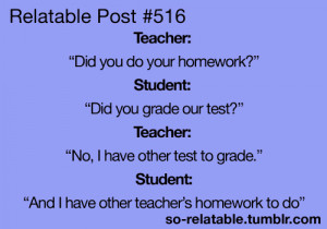 Funny Quotes About School Tumblr