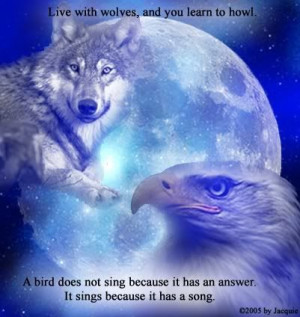 wolf quotes native american